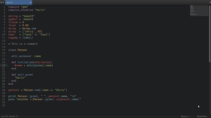 Better Ruby Syntax Highlighting Plugin Development