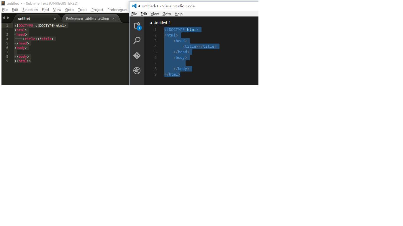 HTML Auto-complete problem - Technical Support - Sublime Forum