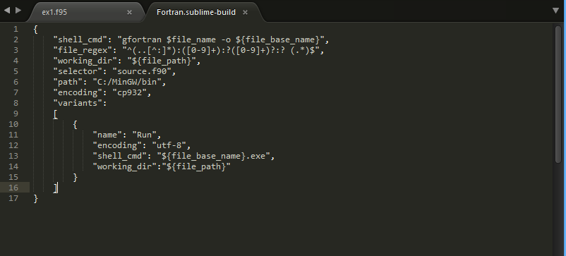 Is it possible to compile and execute FORTRAN in one build system