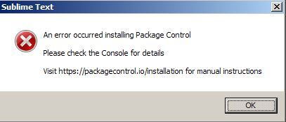 Can't install package control in any way - Technical Support
