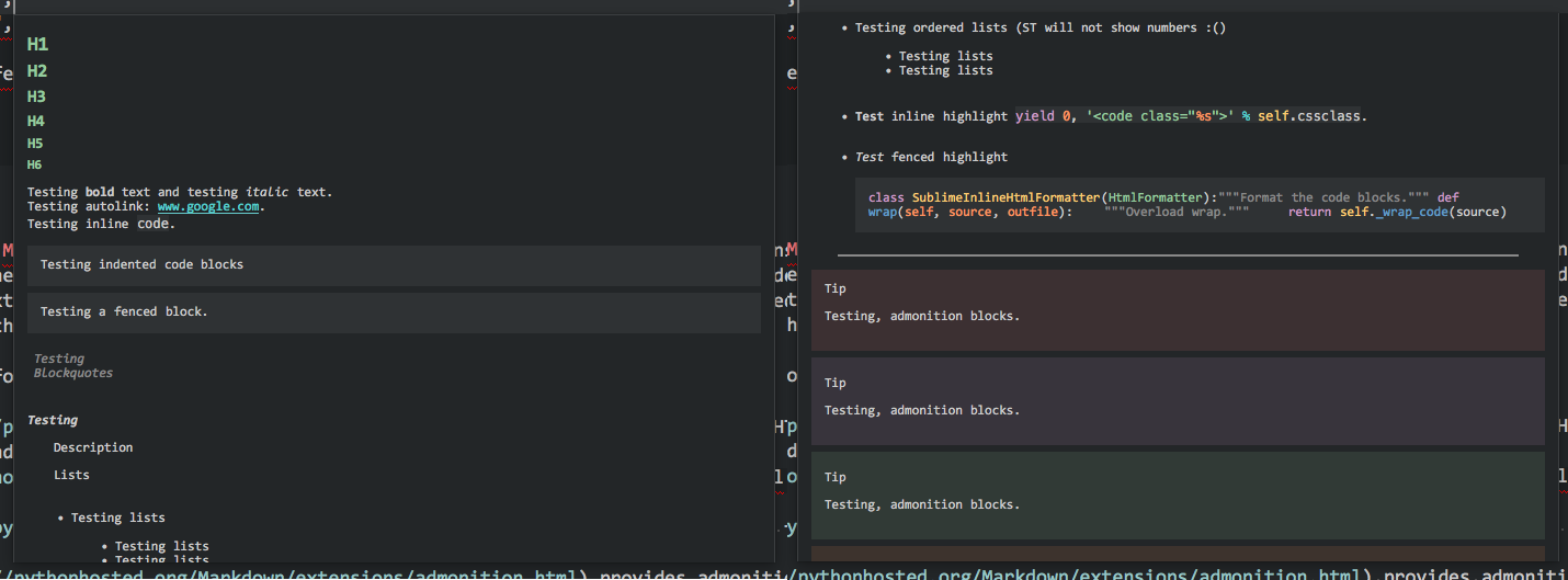 Sublime Text In Distraction Mode