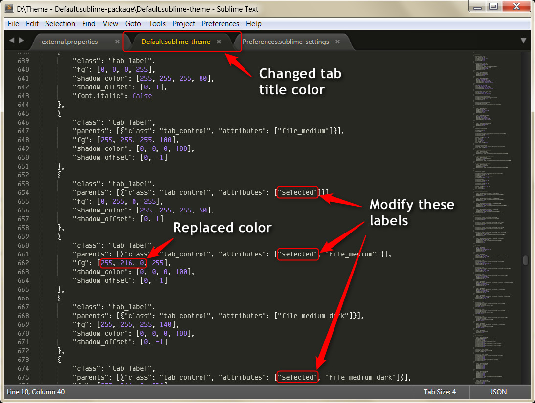 sublime text rounded tabs