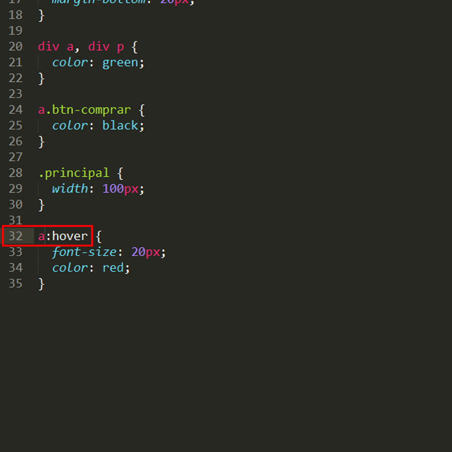 hover in sublimetext version 3 0 build 3143 the color does