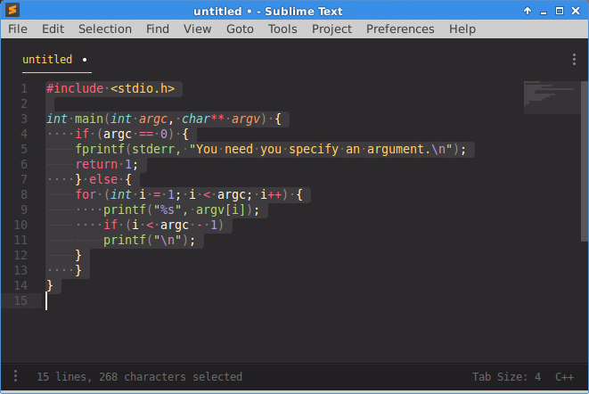 Cannot Properly Use Sublime On Files With Mixed Spaces And Tabs