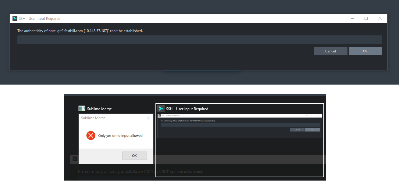 Known Host Dialog Cropped Out - Technical Support - Sublime Forum