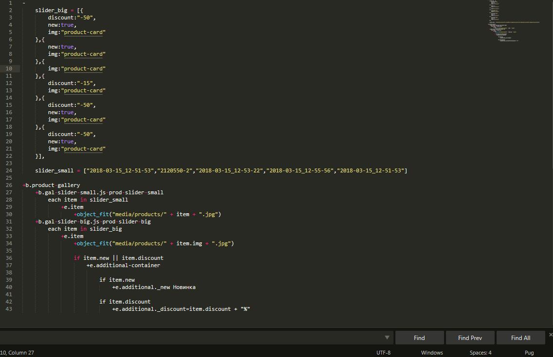 Pug+bemto,SCSS highlight bug - Technical Support - Sublime Forum