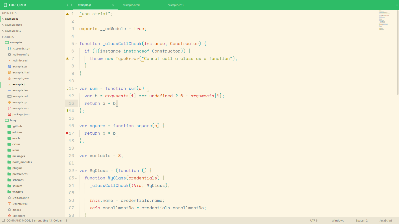Boxy – It Was the Most Hackable Theme for Sublime Text 3 - Plugin