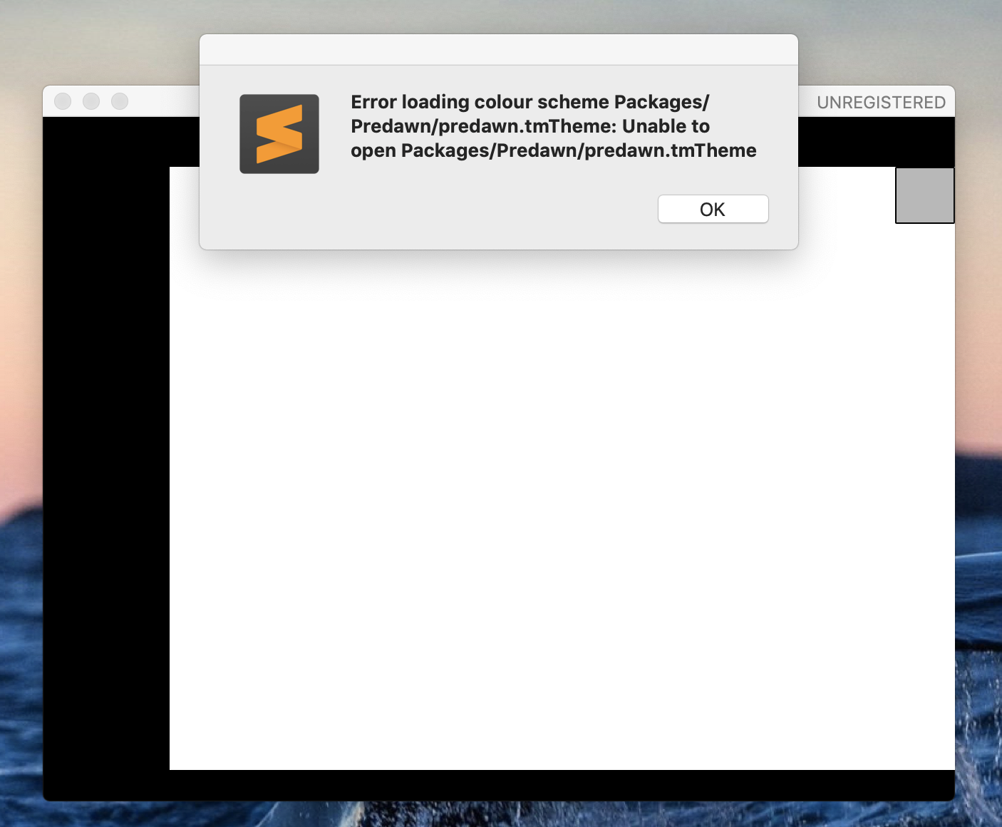 Uninstall and Reinstall messes up Sublime Text 3 Mac OS X