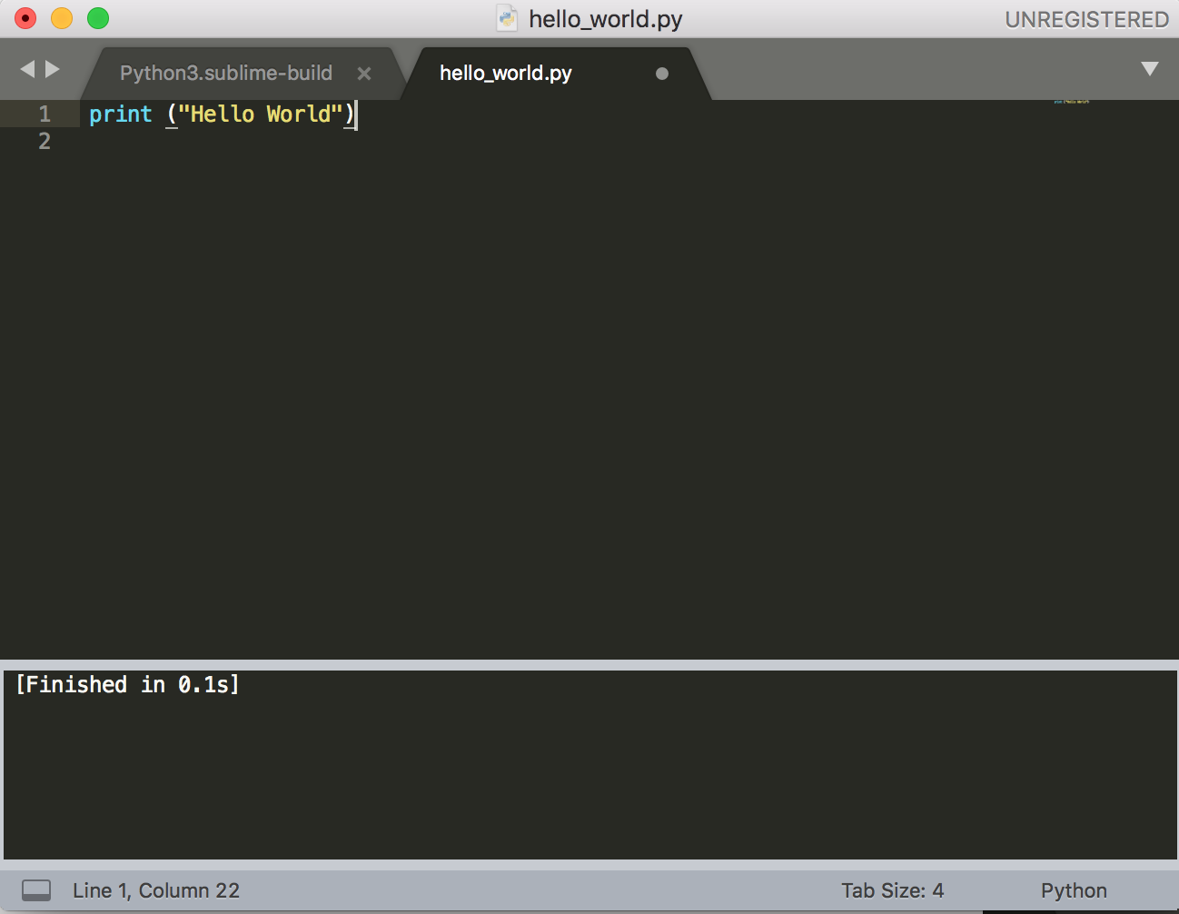 Can't Get Python to Output in Sublime Text 3 - Technical