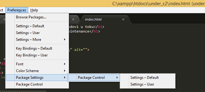 sublime text 2 package control download