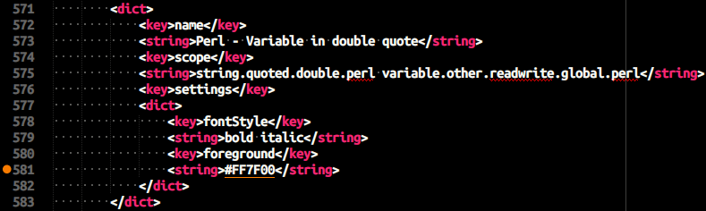 Syntax Highlight Issue