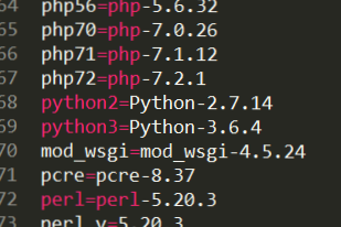 Python3 is shown as key word in bash scripts - Technical Support
